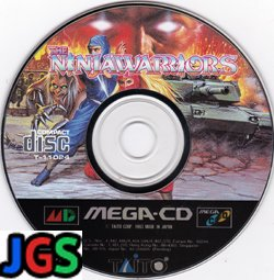 The Ninja Warriors (game disk only)