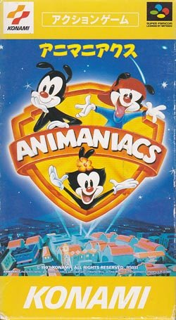 Animaniacs (box damage little)