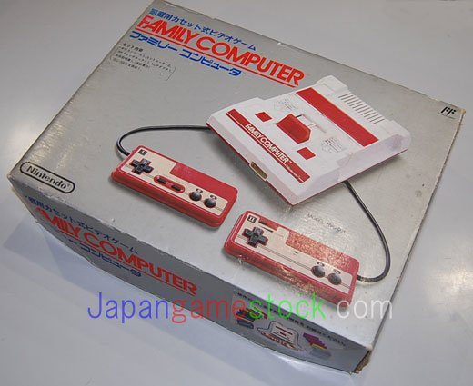 Famicom Old Version AV mod With box and manual