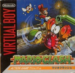 Mario Clash (with box and manual)(box damage little)